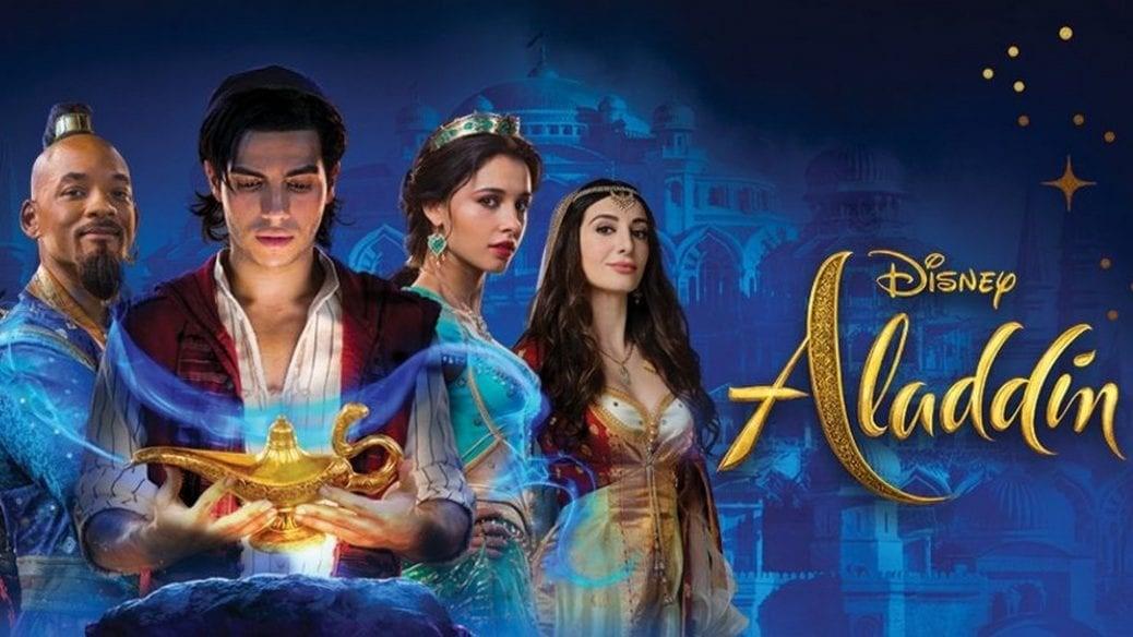 Gänget i nya Aladdin filmen