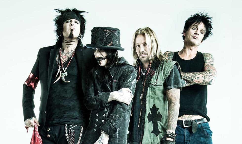 Bandet Mötley Crüe.