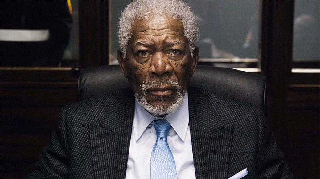 En bild av Morgan Freeman