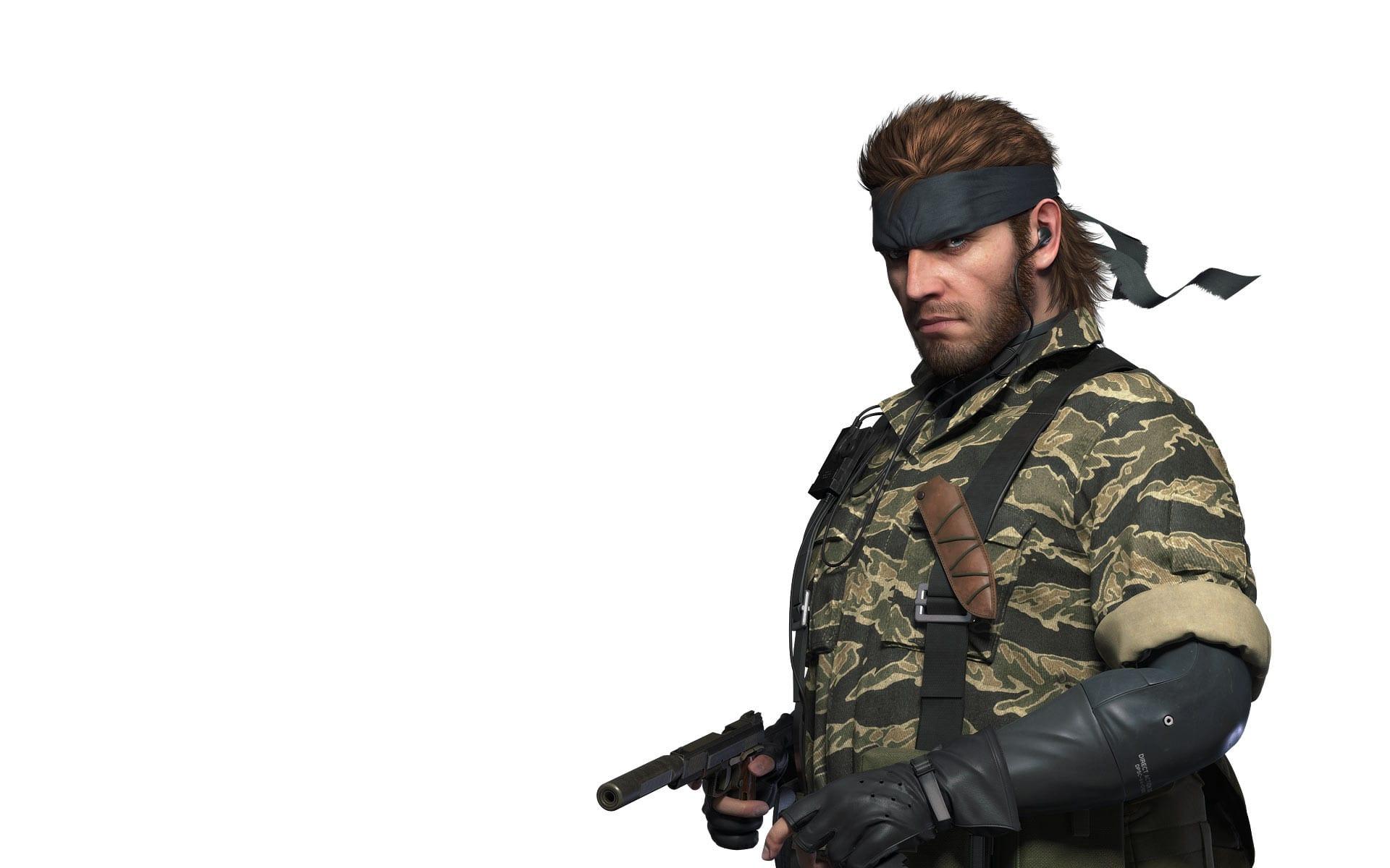 En bild på huvudkaraktären i Metal Gear Solid, Snake