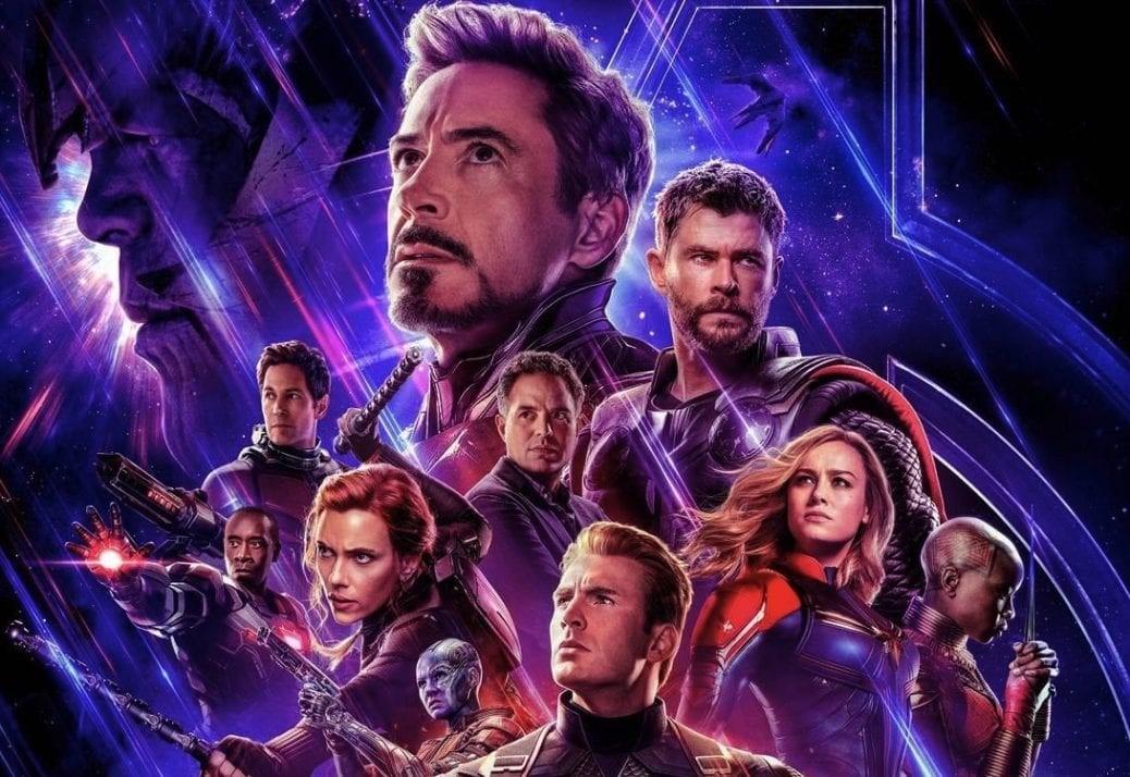 En poster till Avengers: Endgame
