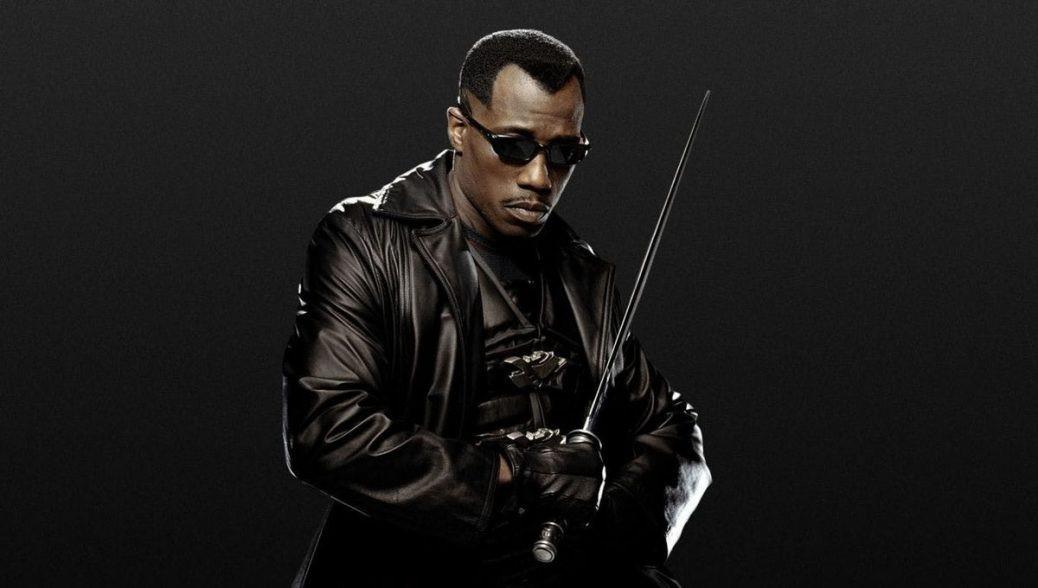 På bilden ser vi Wesley Snipes som Blade