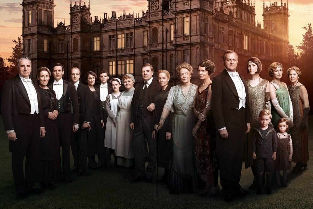 Bild på Downton Abbey gänget