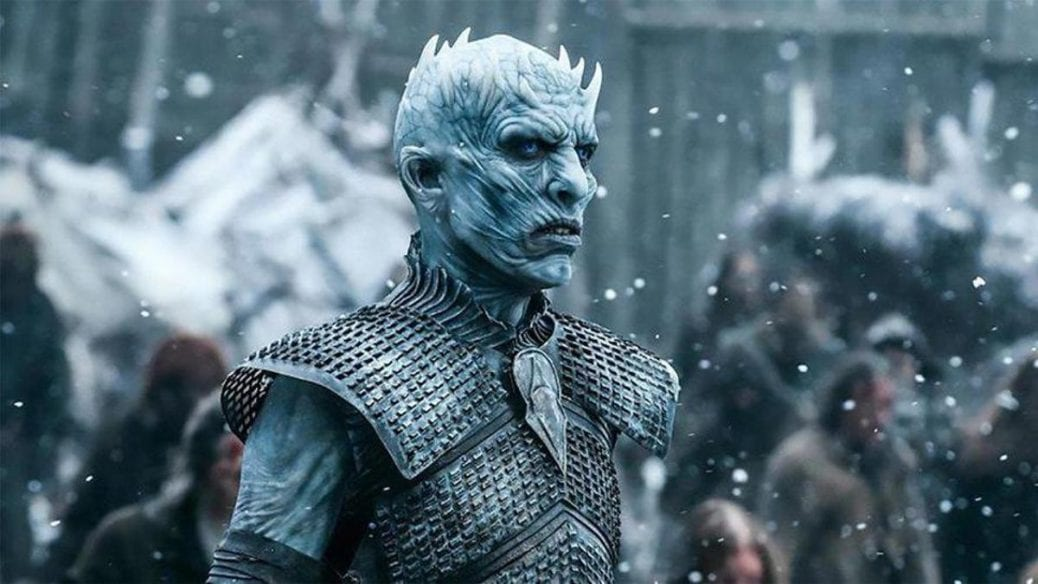 """The Night King i """"Game of Thrones""""."""