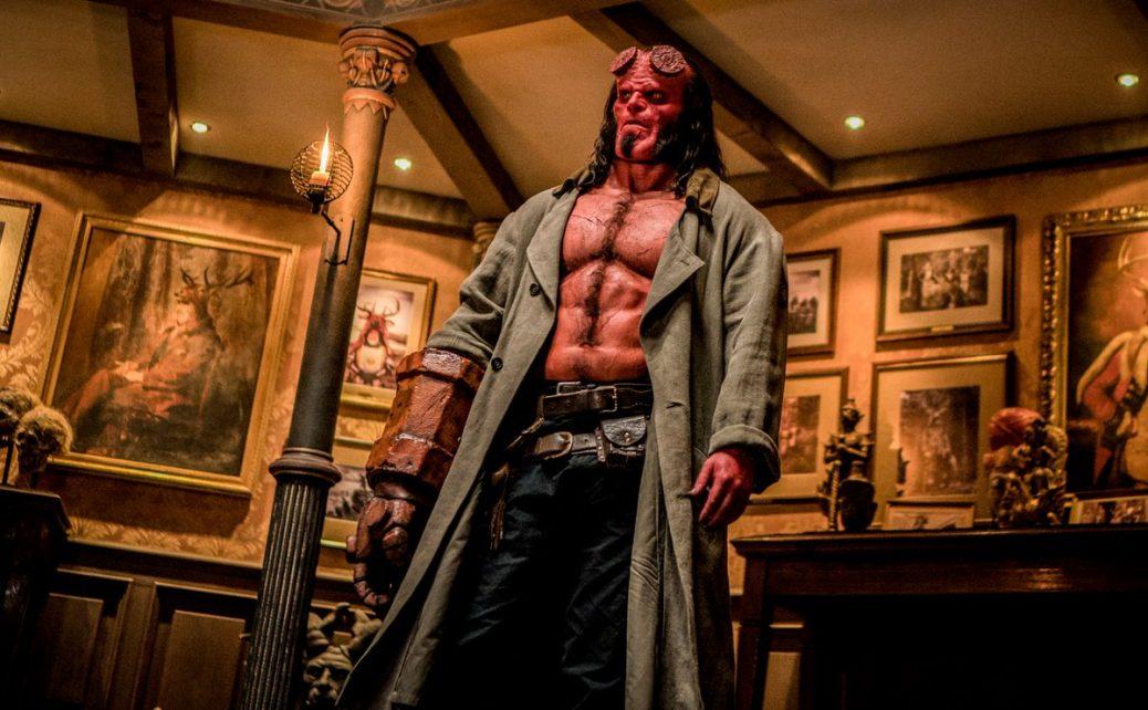 En bild på Hellboy