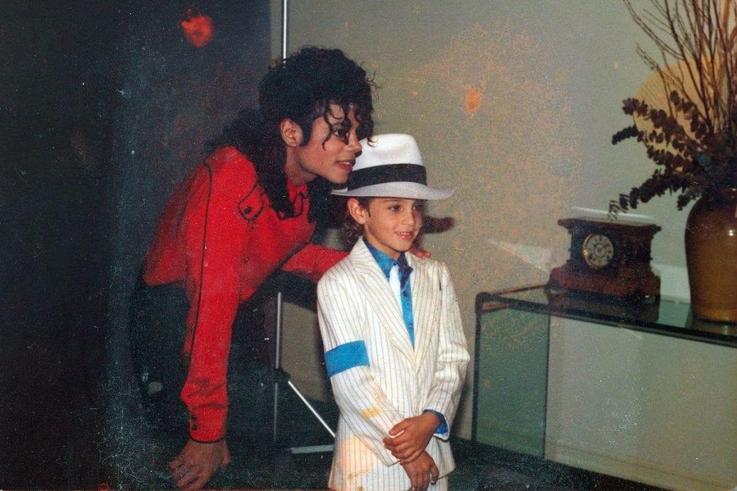 """Michael Jackson och Wade Robson i """"Leaving Neverland""""."""