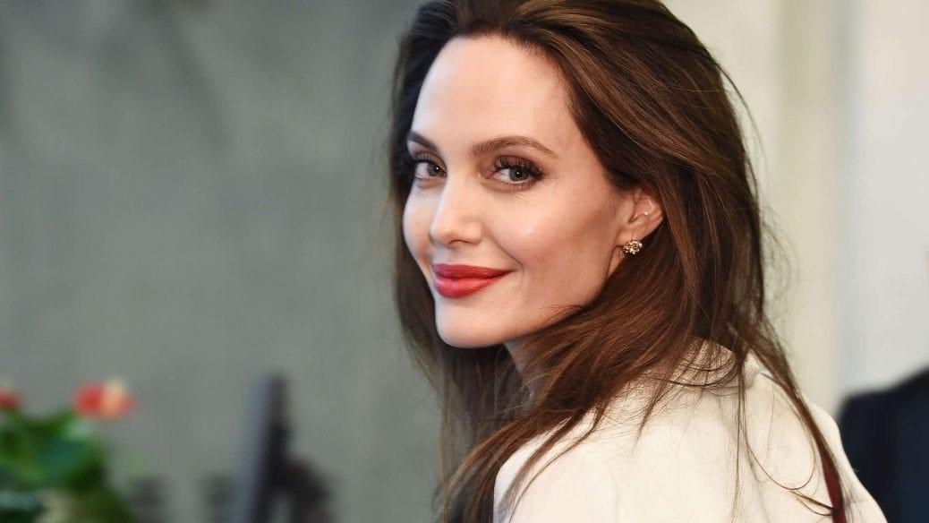 En bild av Angelina Jolie