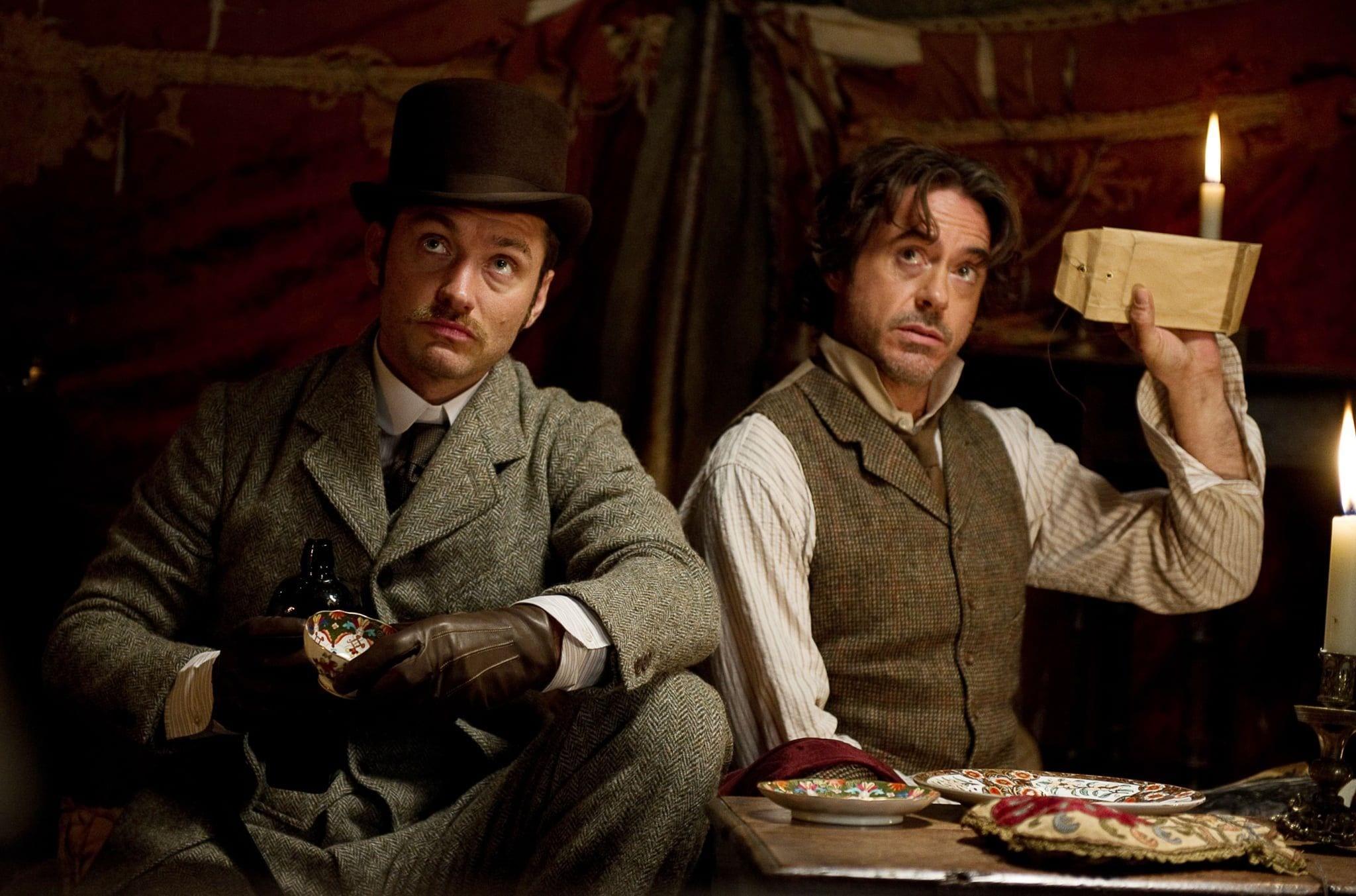 Bild på Sherlock Holmes & Dr Watson