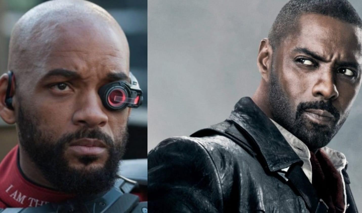 En bild på Will Smith och Idris Elba