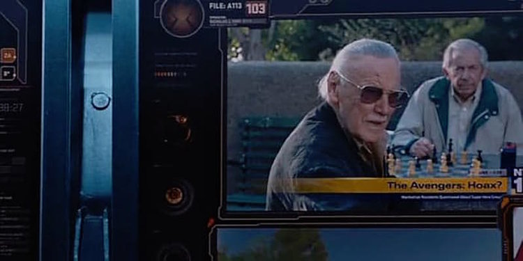 Stan Lee i Avengers.