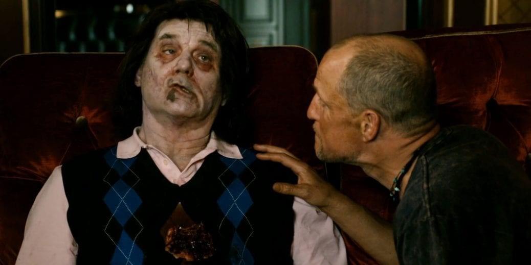 En bild på Bill Murray som zombie