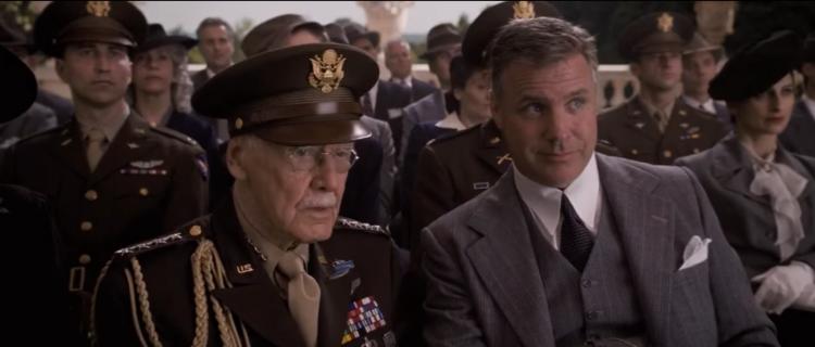 Stan Lee i Captain America.