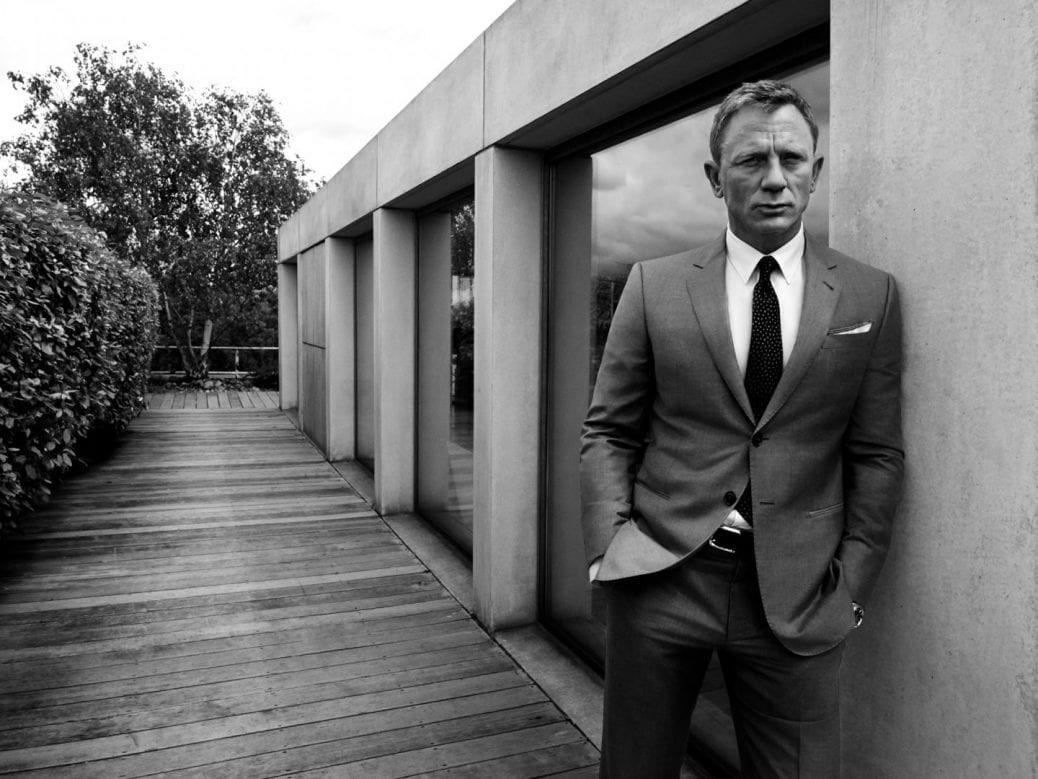 En bild av Daniel Craig
