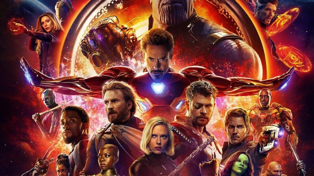 Här ser vi en bild på alla Avengers karaktärer