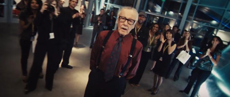 Stan Lee i Iron-Man 2.