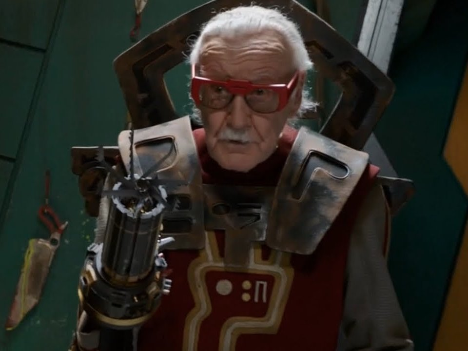 Stan Lee i Thor Ragnarok.