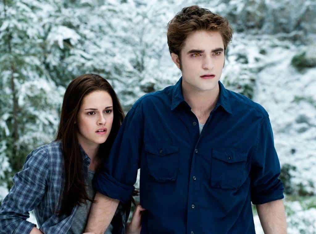 Kristen Stewart och Robert Pattinson i Twilight.
