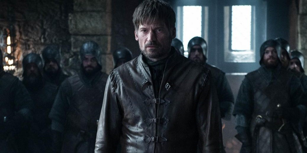 Jaime får stå till svars för sina handlingar. Foto: HBO Nordic.
