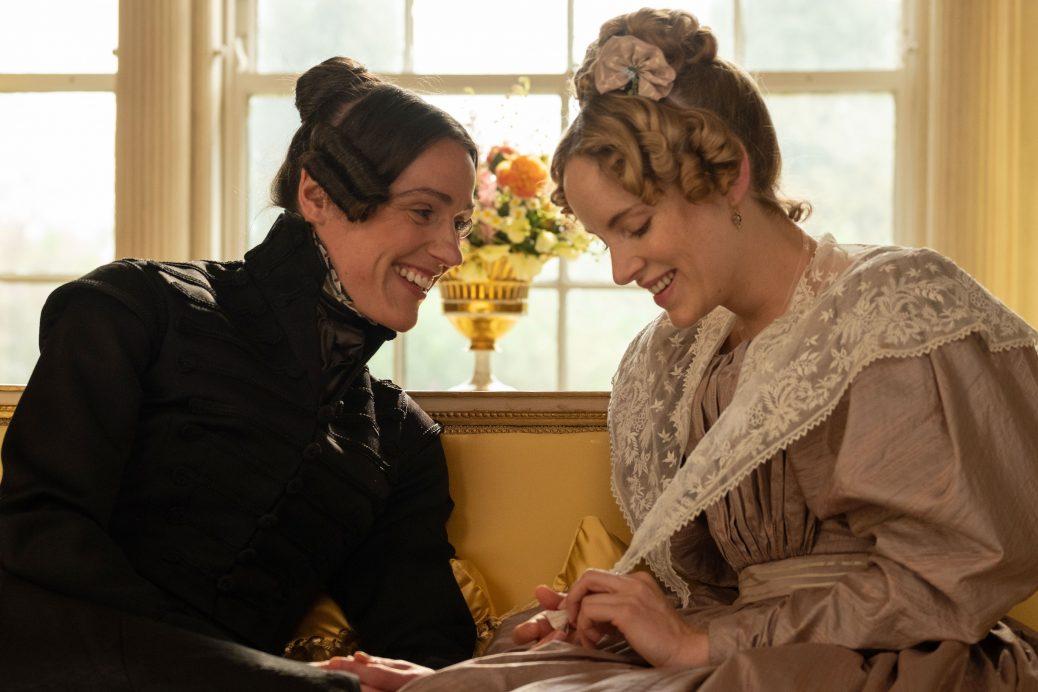 """Suranne Jones och Sophie Rundle i """"Gentleman Jack""""."""