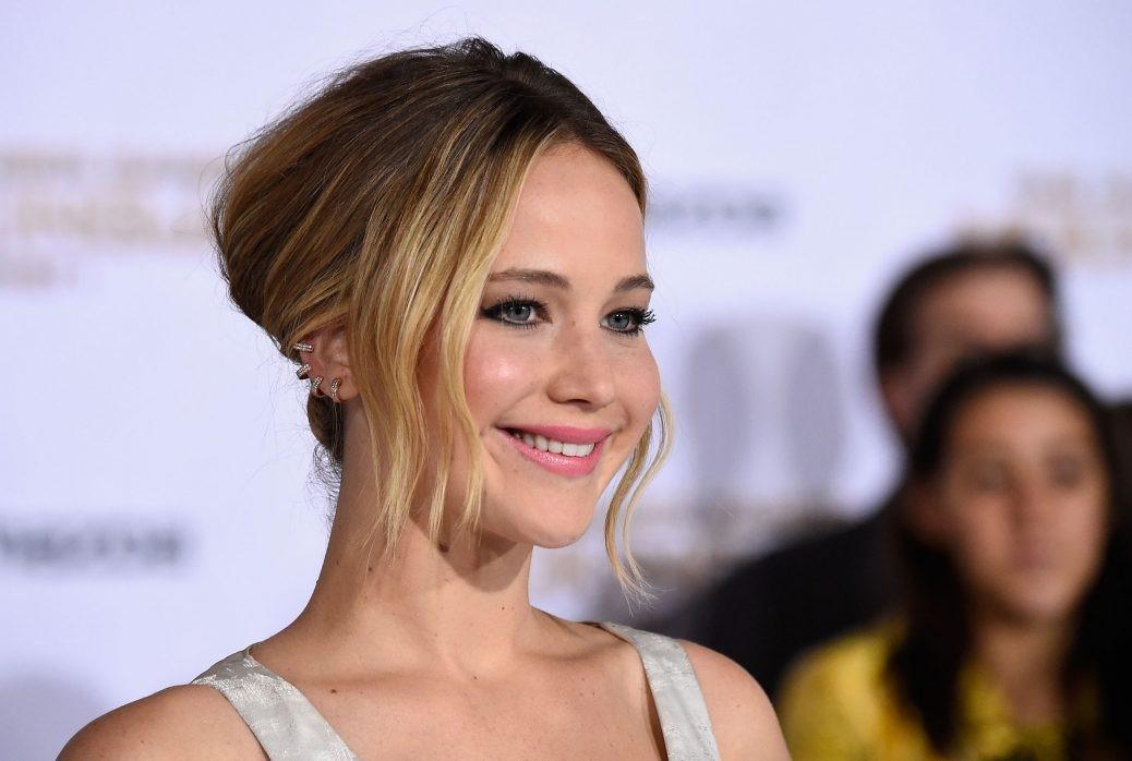 På bilden ser vi den framgångsrike skådespelaren Jennifer Lawrence