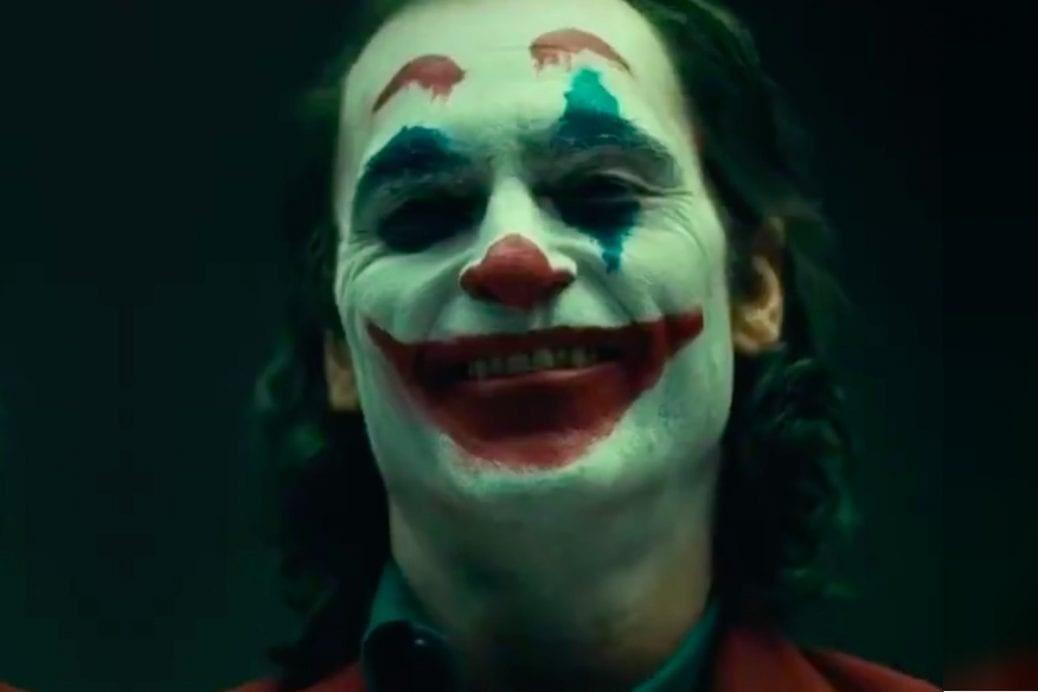 En bild av Joaquin Phoenix som Jokern