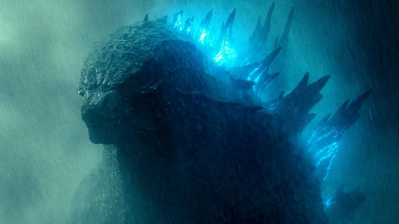 På bilden ser vi senaste Godzilla