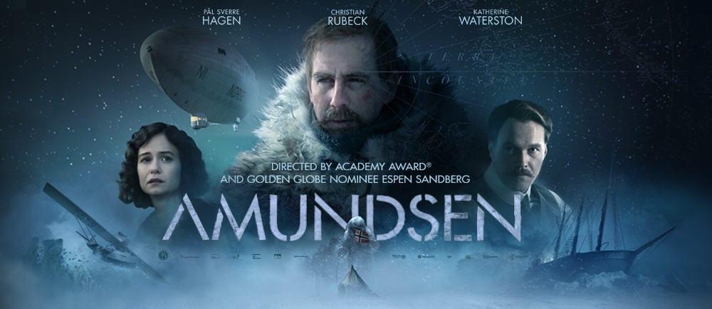Affisch till filmen Amundsen.