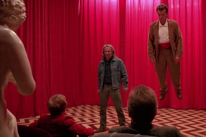 "Mystiska figurer i David Lynchs ""Twin Peaks: Fire Walk with Me""."