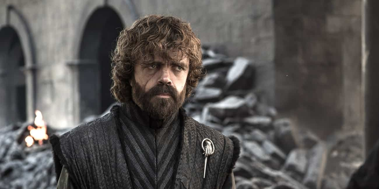 Peter Dinklage i sista avsnittet av Game of Thrones