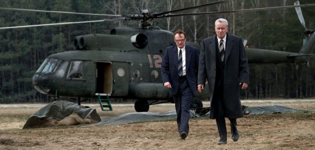 Ur den Emmynominerade serien Chernobyl.