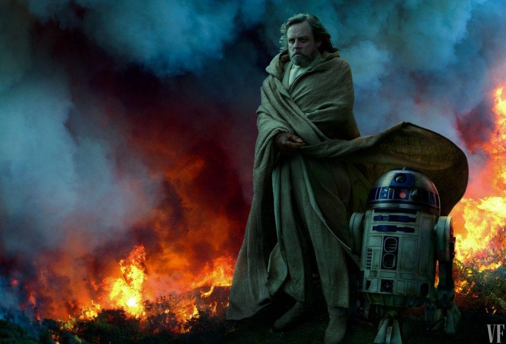 Luke Skywalker och R2-D2.