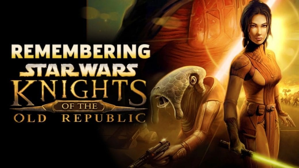 Omslag till The Knights of the Old Republic.