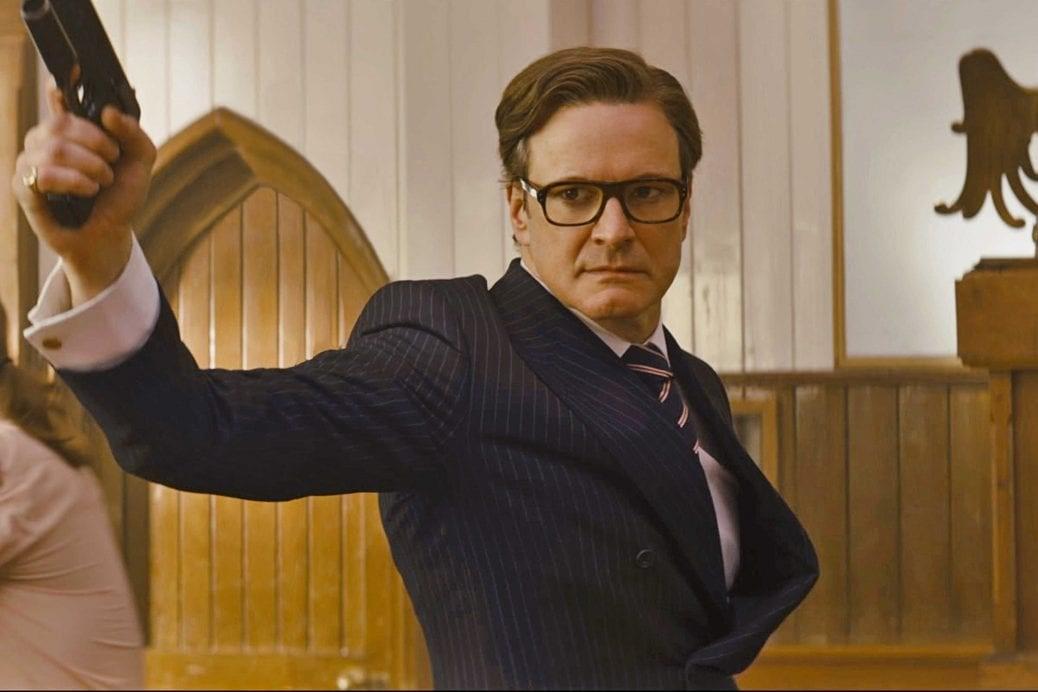 En bild av Colin Firth i Kingsman