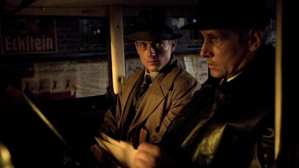 Bild från thrillerserien Babylon Berlin.