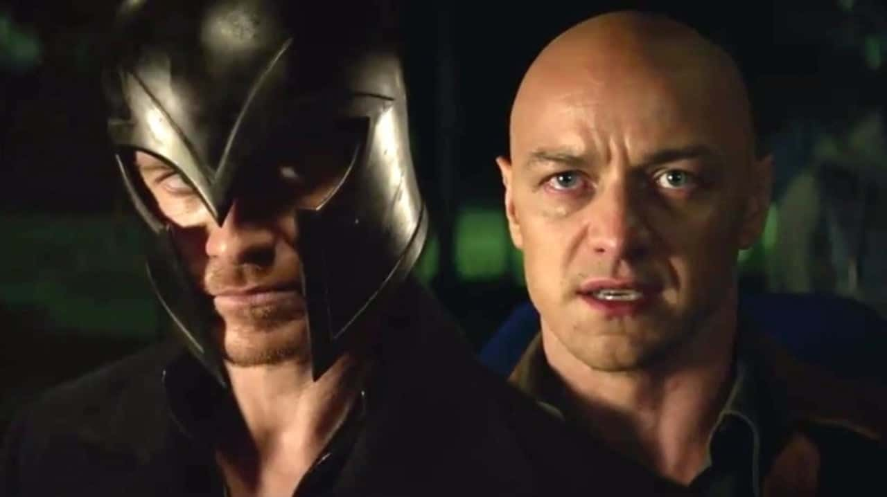 James McAvoy och Michael Fassbender i X-Men: Dark Phoenix.