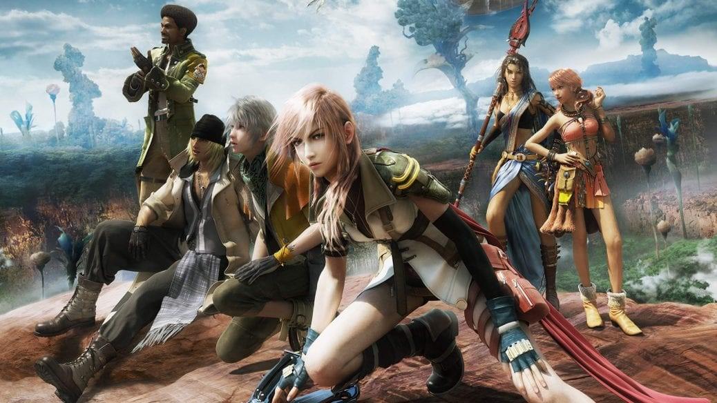 Några av karaktärerna i Final Fantasy.