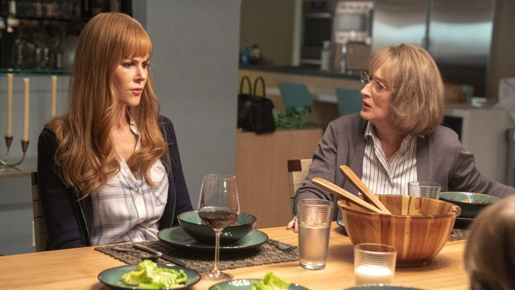 "Nicole Kidman och Meryl Streep i ""Big Little Lies"""
