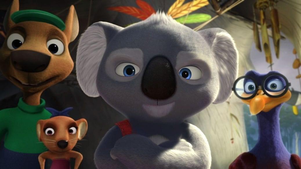 Blinky Bill står med armarna i kors i Blinky Bill Filmen.