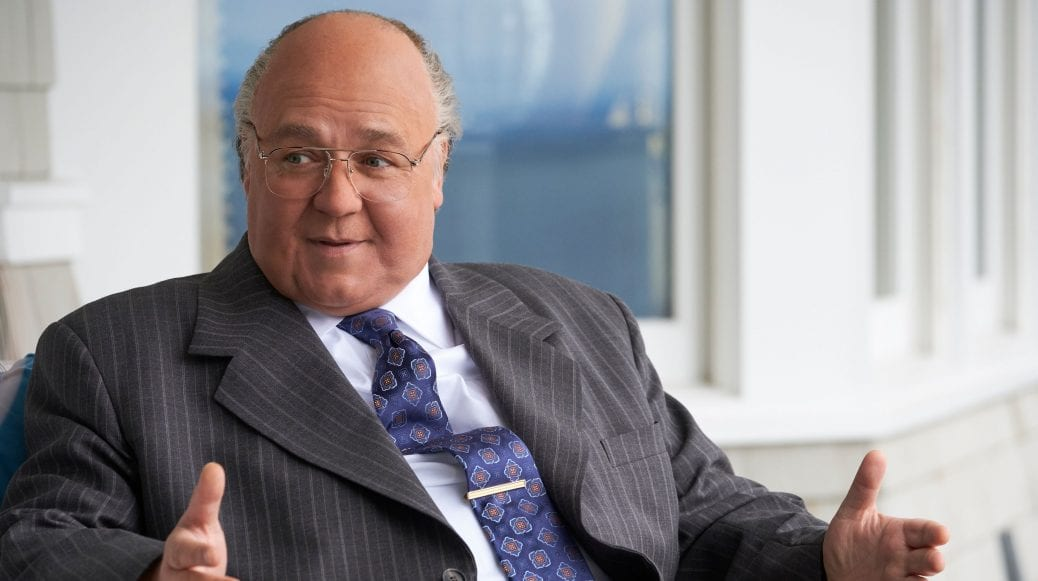 """Rusell Crowe i huvudrollen som Roger Ailes i """"The Loudest Voice"""""""