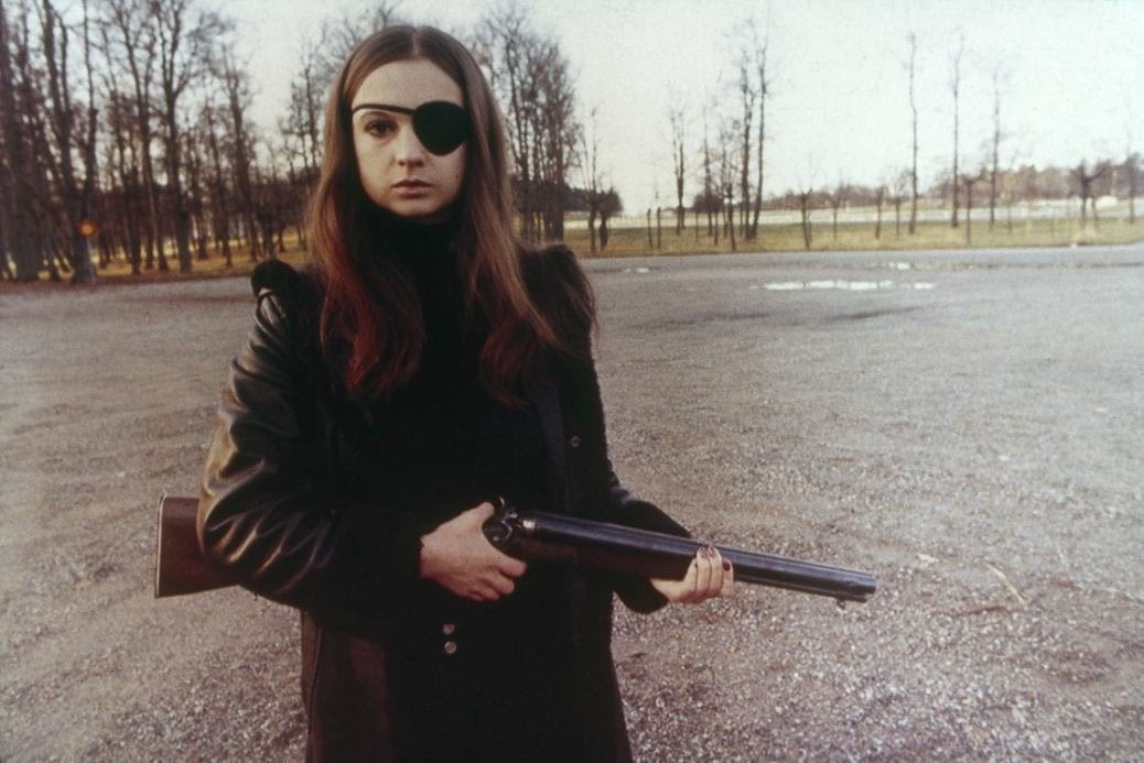 Christina Lindberg i Thriller – En grym film.