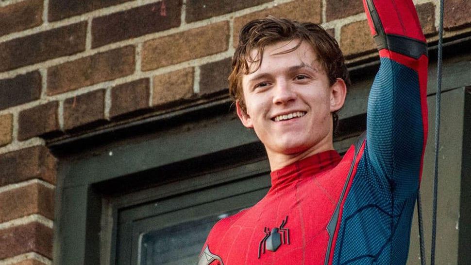 Tom Holland som Spindelmannen.