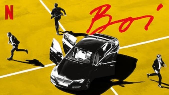 Tecknad affisch till Boi.