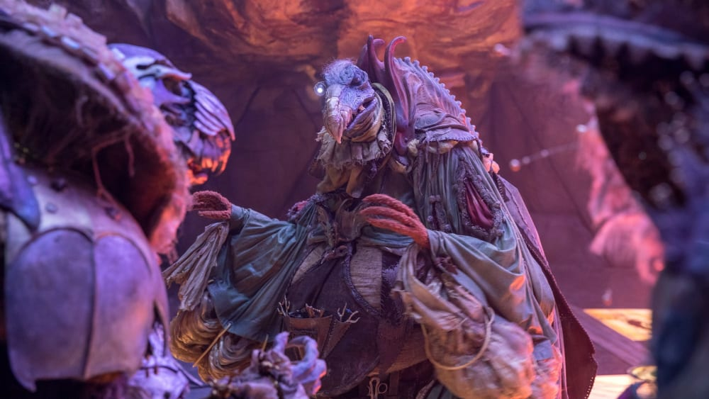 """Prequelserien """"The Dark Crystal: Age of Resistance""""."""