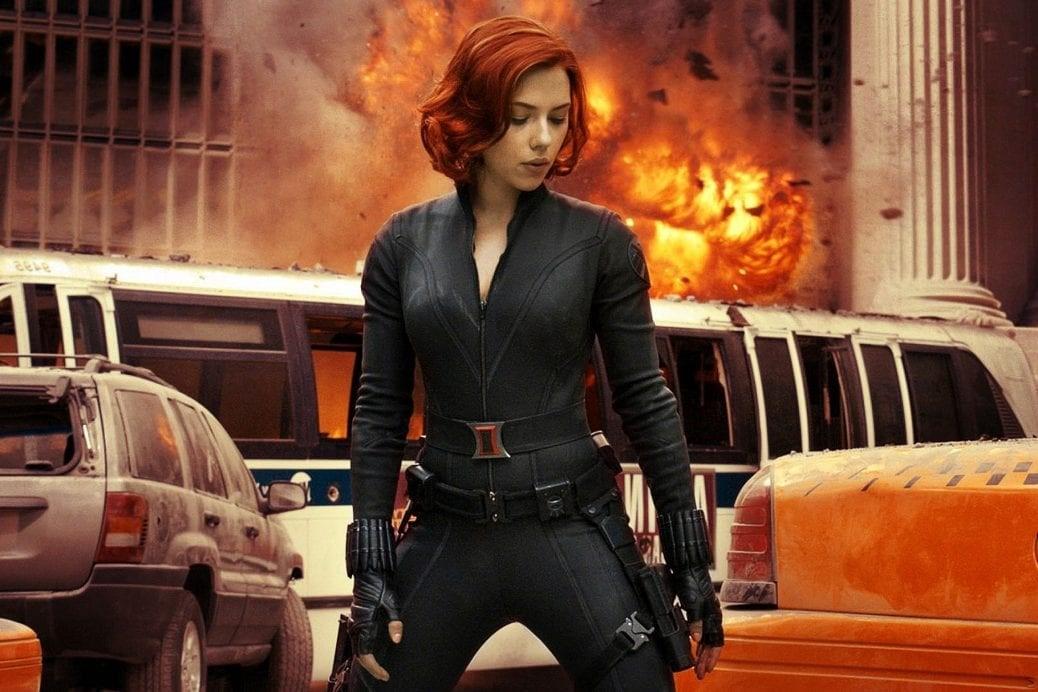Scarlet Johansson som Black Widow.