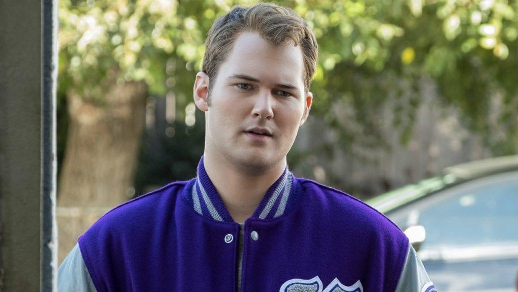 """Justin Prentice som Bryce Walker i """"Tretton skäl varför""""."""