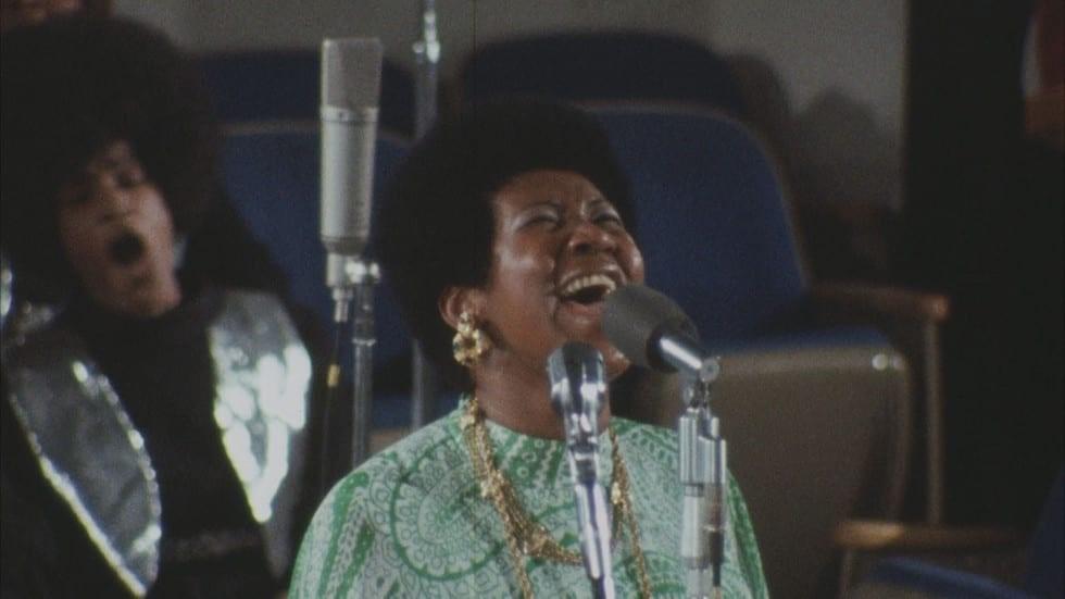 Aretha Franklin i Amazing Grace.