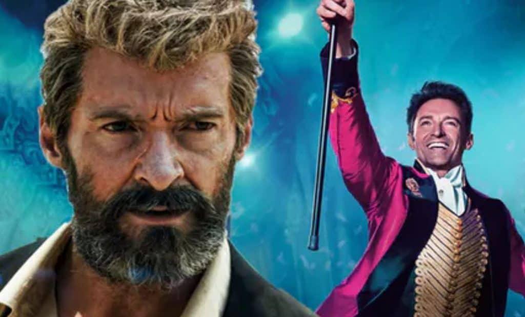 Hugh Jackman i Logan och The Greatest Showman