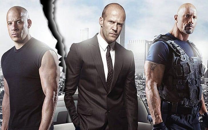Vin Diesel, Jason Statham och Dwayne Johnson