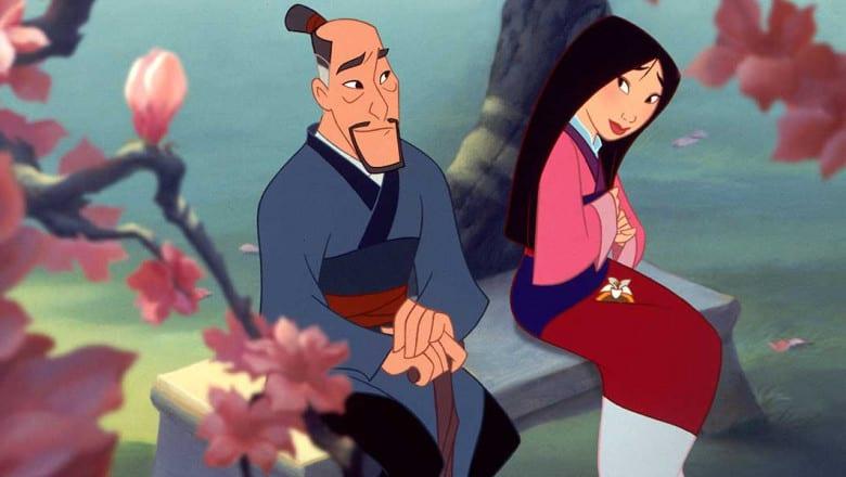 Mulan och hennes pappa