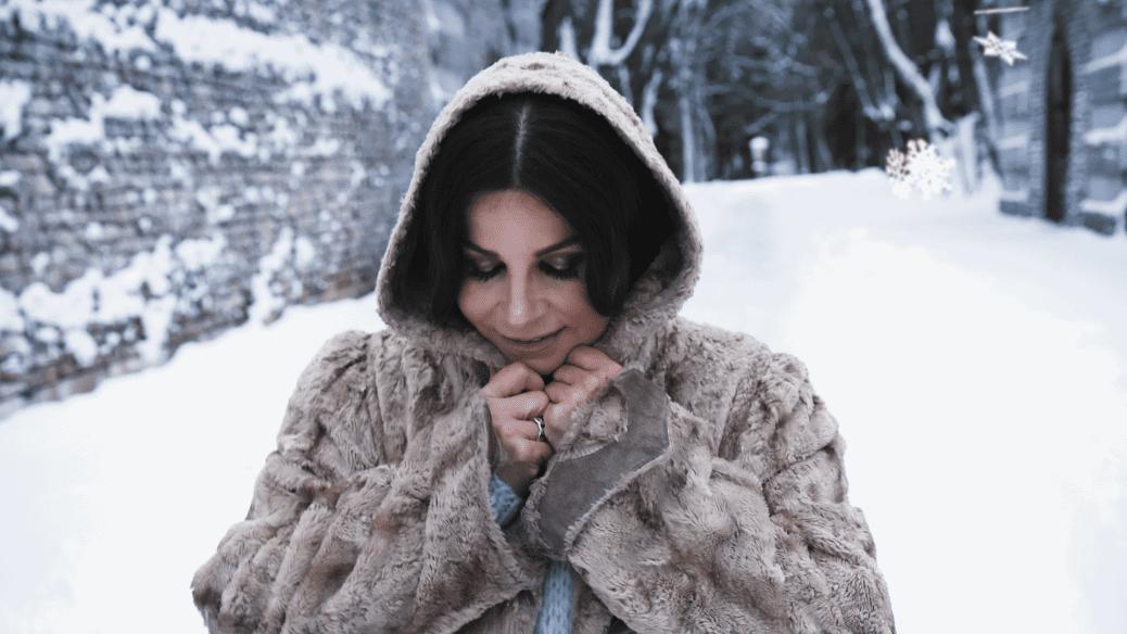 Carola Häggqvist inför Carolas advent.